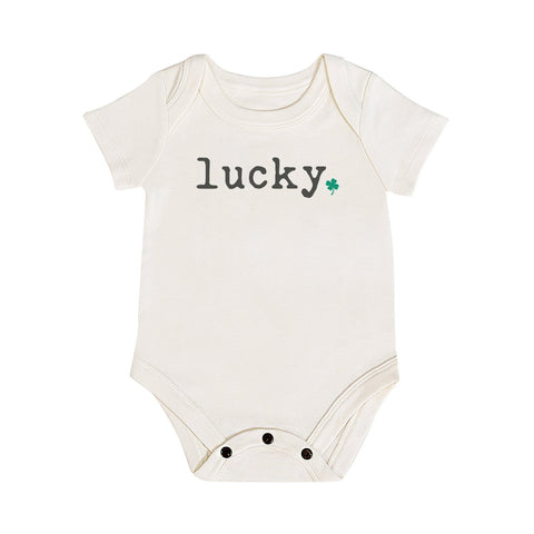 Lucky- Graphic Bodysuit