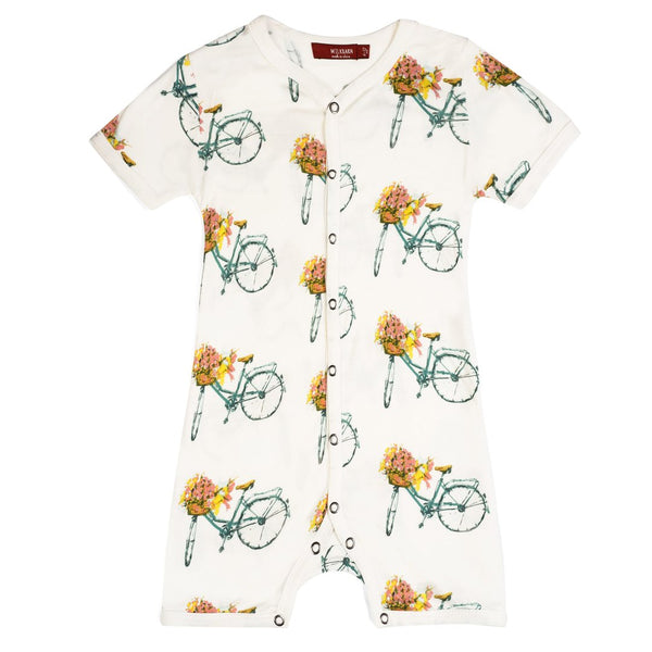 Shortall Floral Bicycle