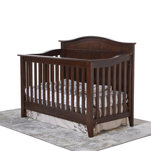 Napoli Curved Top Forever Crib