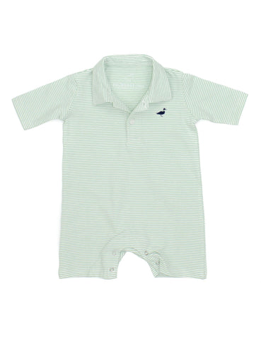 Jackson Polo Shortall Mint Stripe