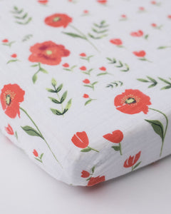 Cotton Muslin Mini Crib Sheet