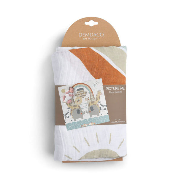 Noah's Ark Photo Swaddle