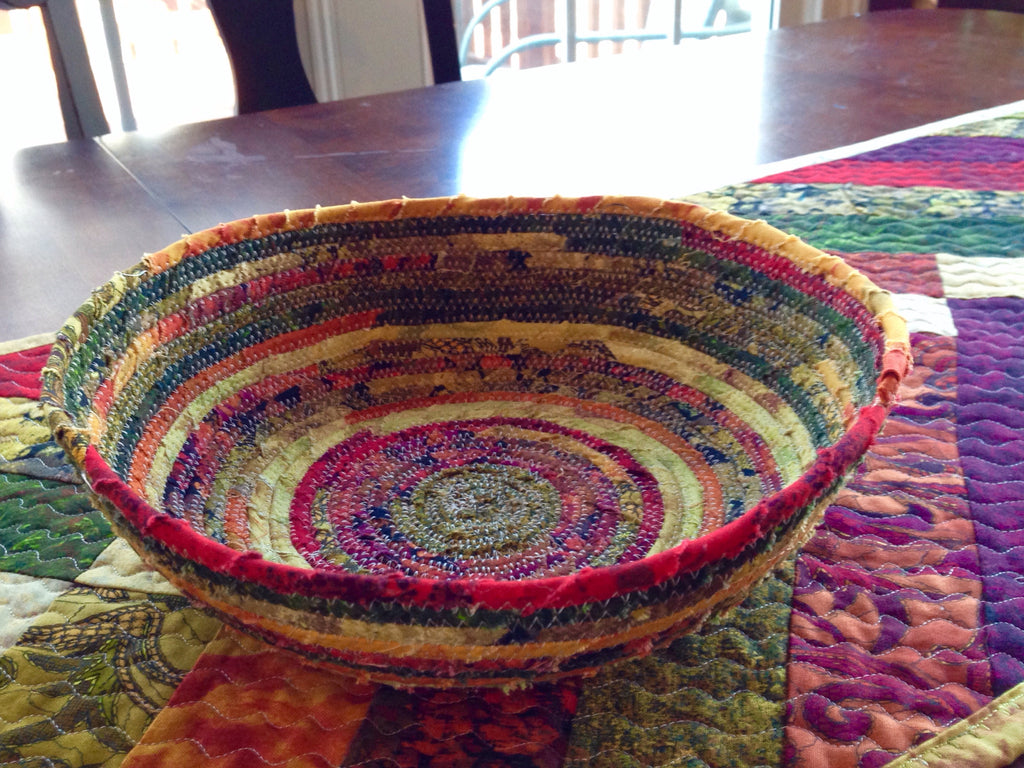 How to Make Fabric Bowls