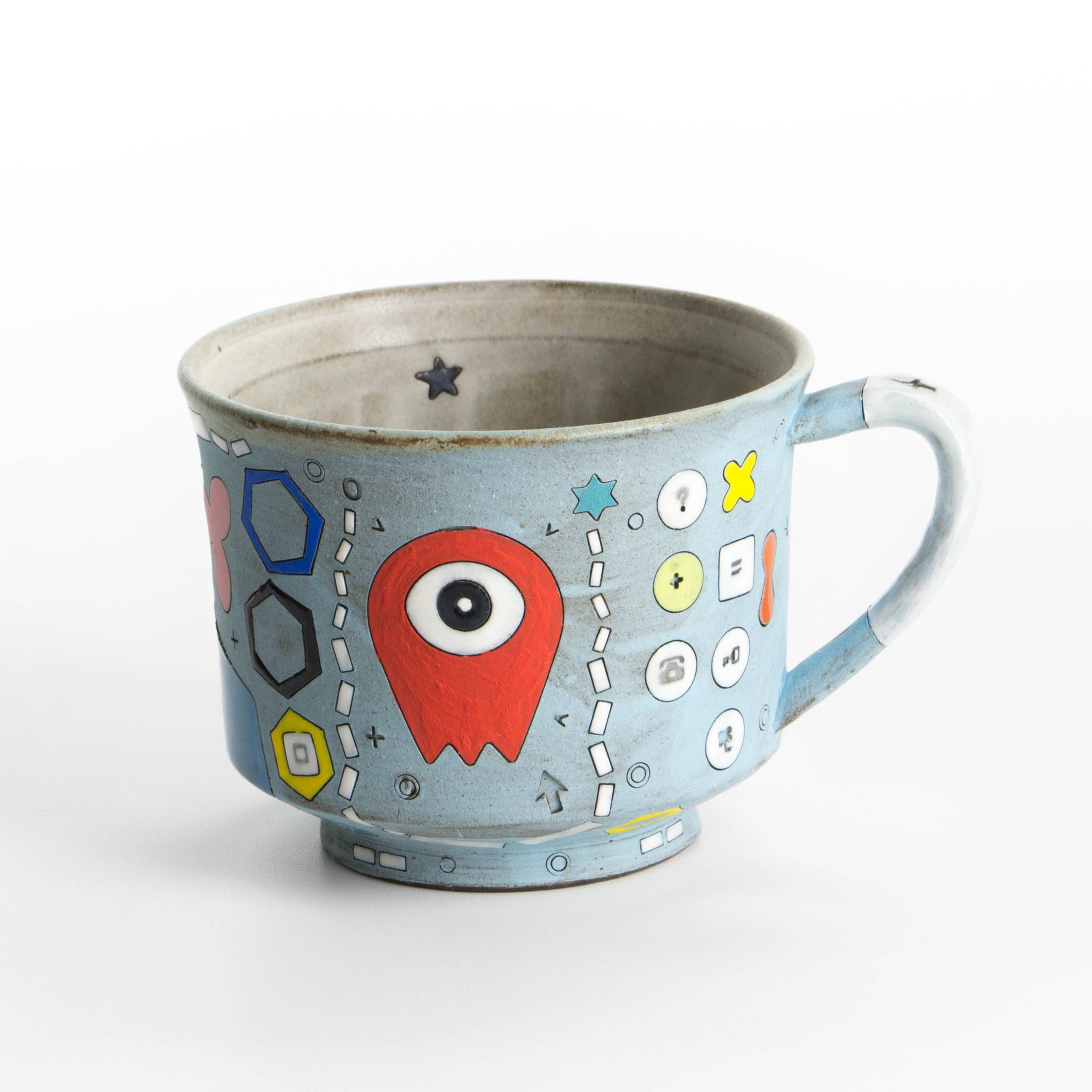 One-Eyed Alien Mug