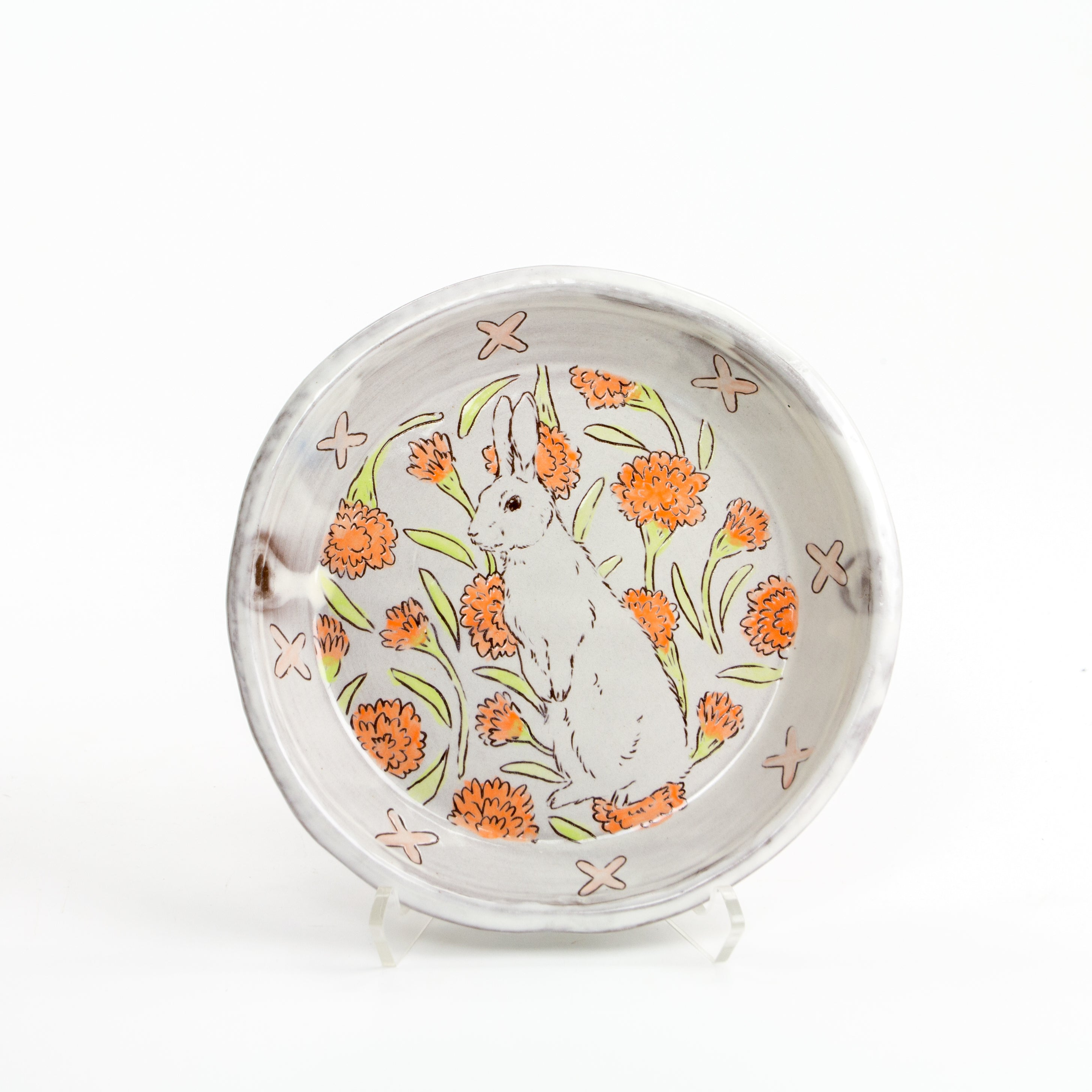 Rabbit Lunch Plate