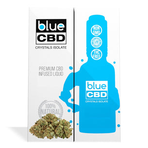Jack Herer Terpenes Blue CBD Crystals Isolate