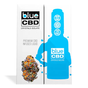 Sour Kush Terpenes Blue CBD Crystals Isolate
