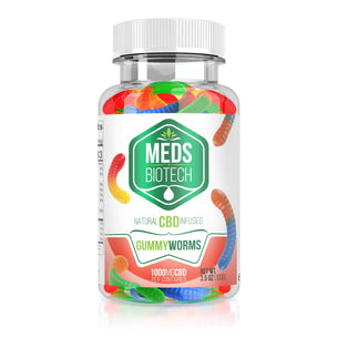 Meds Biotech Gummies - CBD Infused Gummy Worms
