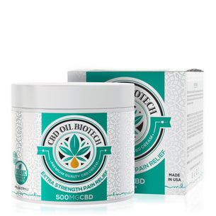 CBD Oil Biotech Cream - 500mg