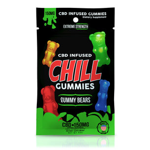 Chill Gummies - CBD Infused Gummy Bears - 150mg