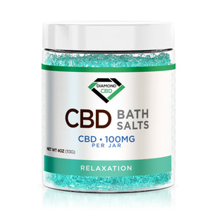 Diamond CBD Bath Salt - Relaxation - 100mg
