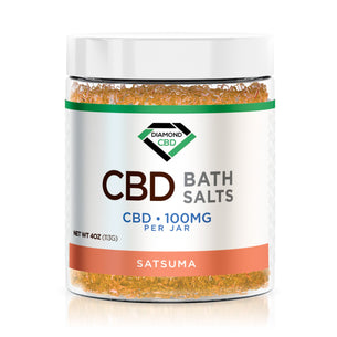 Diamond CBD Bath Salt - Satsuma - 100mg