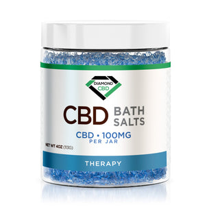 Diamond CBD Bath Salt - Therapy - 100mg