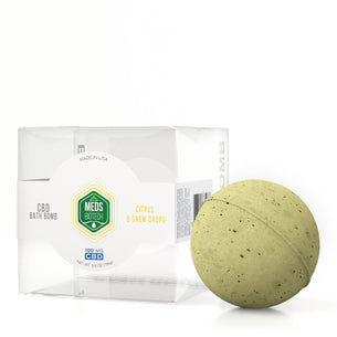 Meds Biotech CBD Bath Bomb - Citrus & Snow Drops - 100mg