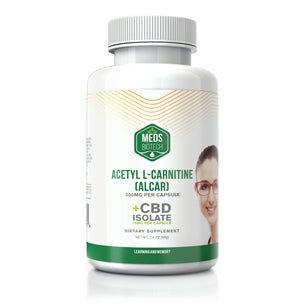 Meds Biotech CBD Acetyl L Carnitine Capsules - 500mg