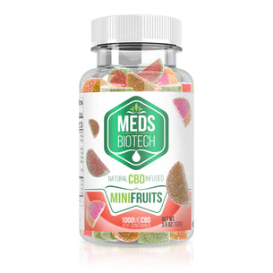 Meds Biotech Gummies - CBD Infused Mini Fruits