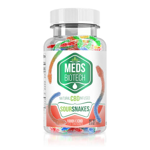 Meds Biotech Gummies - CBD Infused Sour Snakes