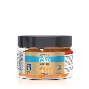 Relax CBD Dried Fruit - Apricots - 750mg
