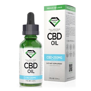 Unflavored Diamond CBD Oil - 250mg