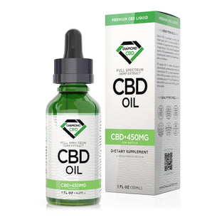 Unflavored Diamond CBD Oil - 450mg