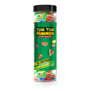 Yum Yum Gummies - CBD Full Spectrum Sour Snakes - 250mg