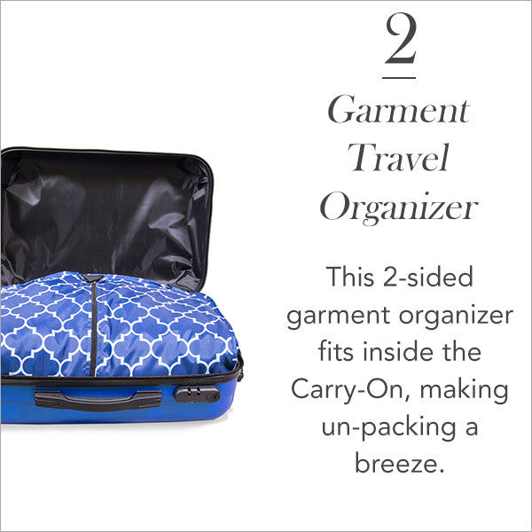Carry-On Collection: Garment Travel Organizer