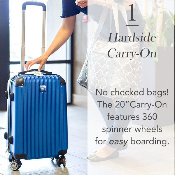 Carry-On Collection: Hardside Carry-On Suitcase