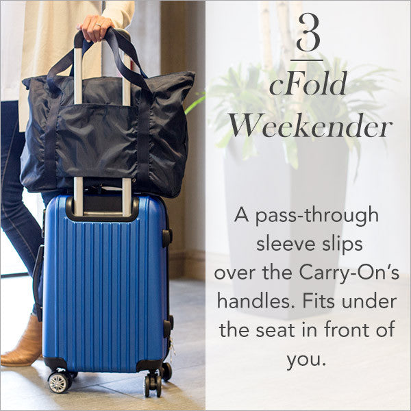 Carry-On Collection: cFold Weekender