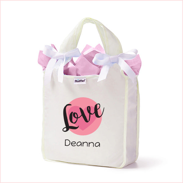 Love Mini Tote Pearl