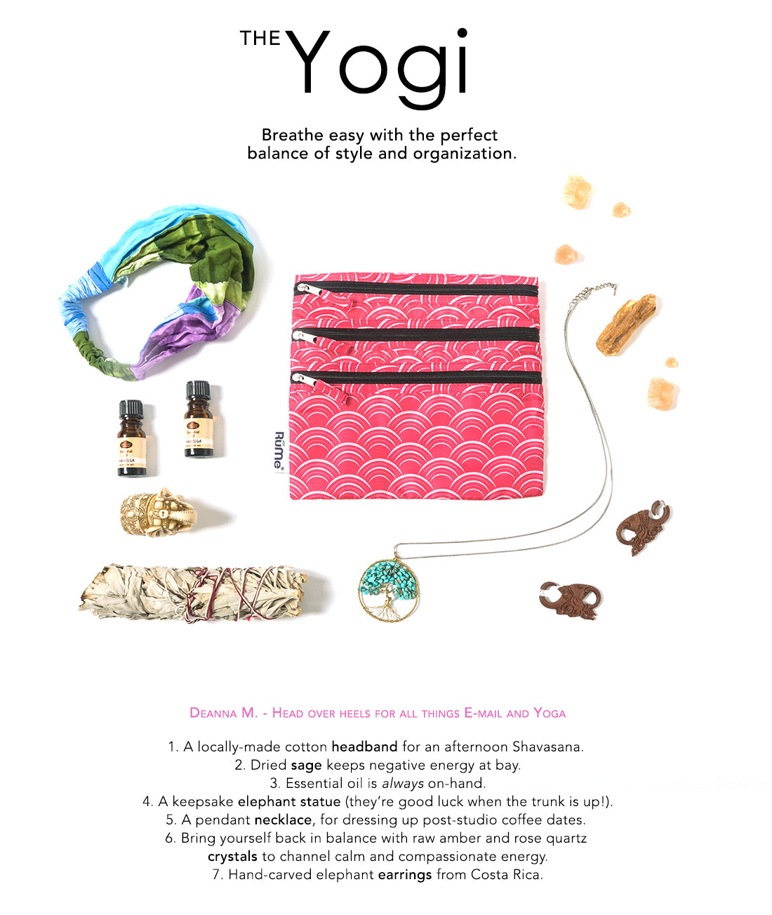 The Yogi | Breathe easy with the perfect balance of style and organization