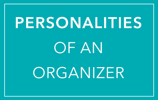Personalities of an Organizer
