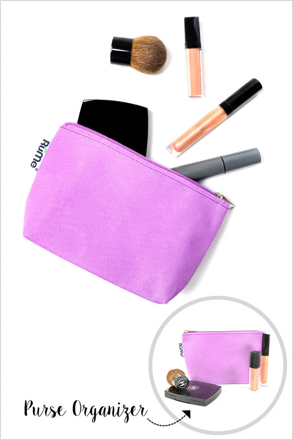 Handbag Organizer and Cosmetic Pouch