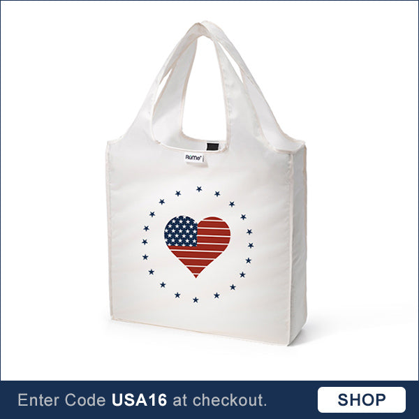 America reusable tote bag Election 2016