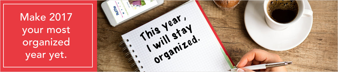 Stay Organized in 2017