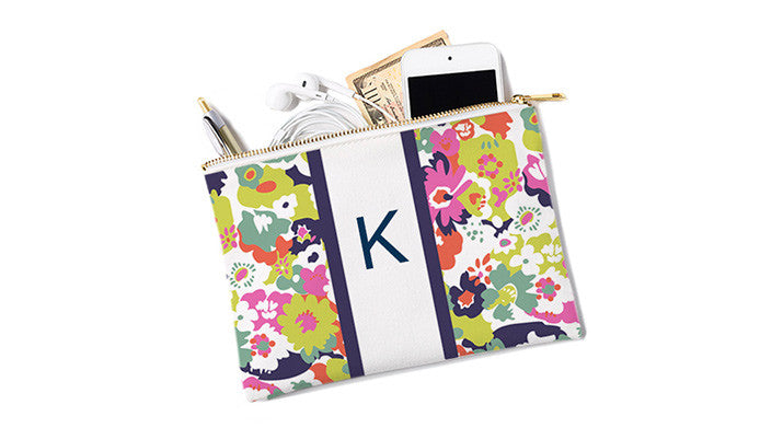 Accessory Pocket / Floral