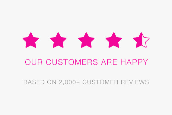 Our customers are happy