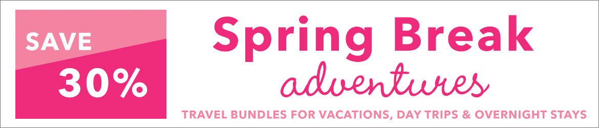 Save 30 percent on Spring Break Bundles