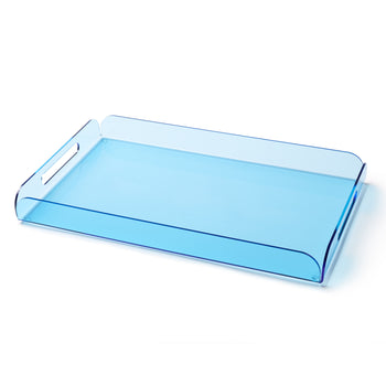 Lucite Tray - Blue