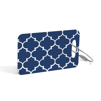 Luggage Tag - Navy Downing