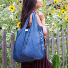 Medium Tote - Heather Denim