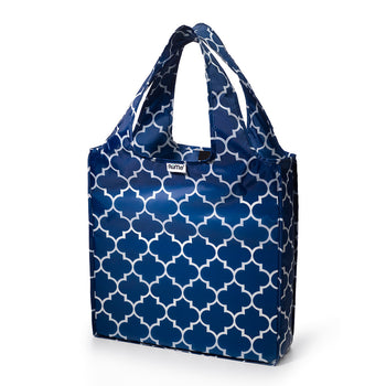 Medium Tote - Navy Downing