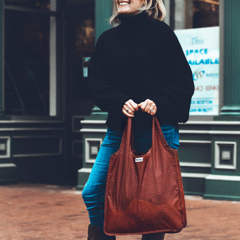 Medium Tote - Ruby Chevy