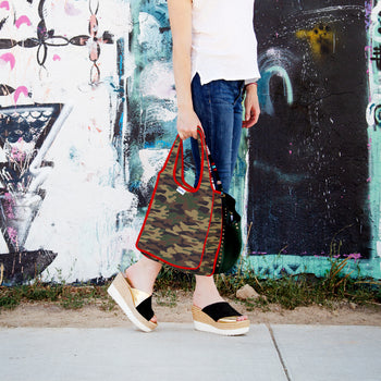 Limited Edition Mini Tote - Glamo Camo