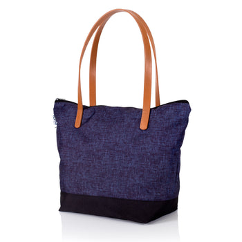 Porter Tote - Heather Denim