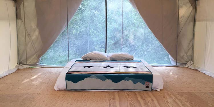 Glamping Tents with Floor