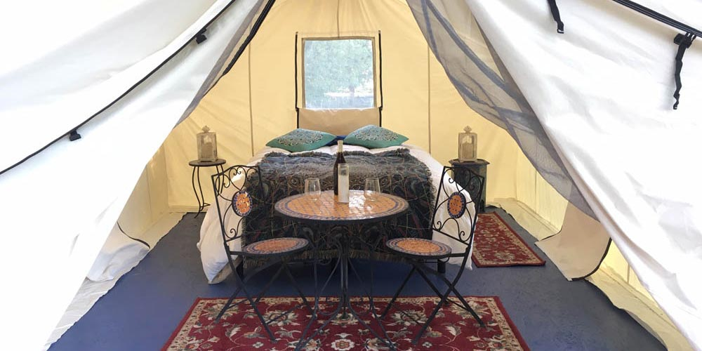 Luxury Tent Interior Design