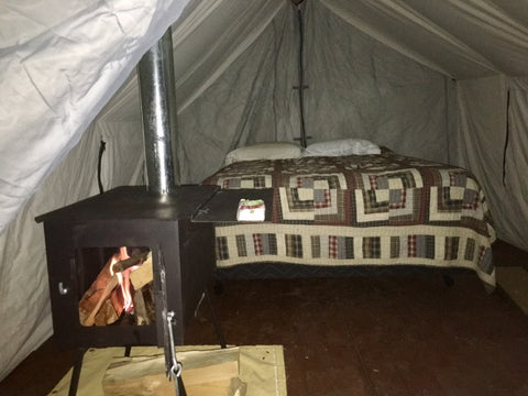Photo by Peter Coats / Wasatch Lodging & Canvas Tent u0026 Tent Stove Testimonials