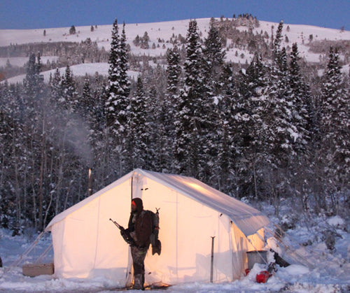 Enjoyed staying in one of your tents on a recent elk hunt in Wyoming. Thanks for making a sturdy warm tent. I will recommend your products to everyone! & Canvas Tent u0026 Tent Stove Testimonials