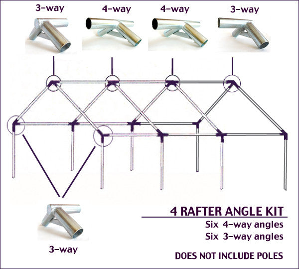Wilderness Tent Angle Joint Kits Amp Angles Free Shipping
