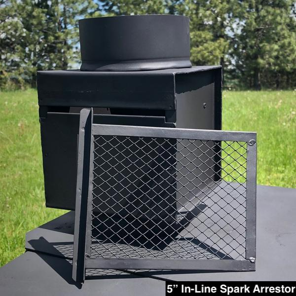 Yukon Wood Stove for Wall Tent or Canvas Tent
